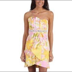 Lilly Pulitzer Skipping on Sunshine Jeweled Dress
